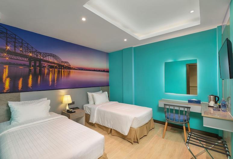 Hotel Balmi, Yangon, Superior szoba kétszemélyes vagy két külön ággyal, ablakok nélkül, Nappali