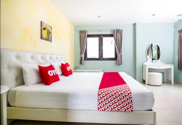 OYO 345 查隆克里克旅館, 拉威, 豪華雙人房, 客房