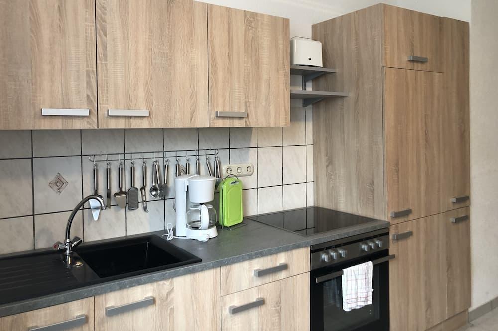 Basic-Doppel- oder -Zweibettzimmer - Gemeinschaftsküche