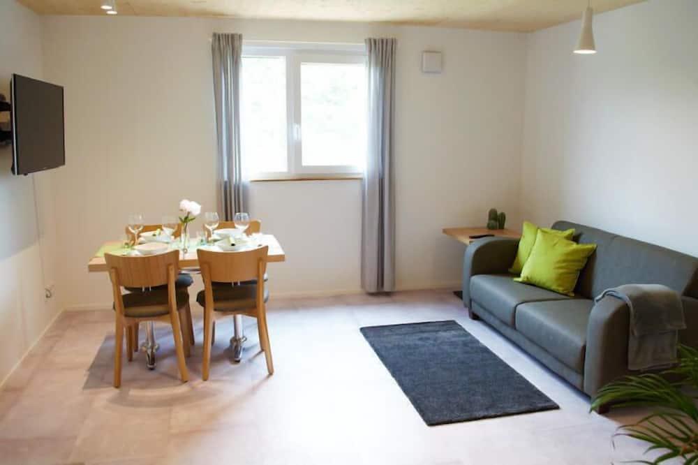 Apartmán typu Superior, dvojlůžko, nekuřácký, kuchyně - Obývací prostor