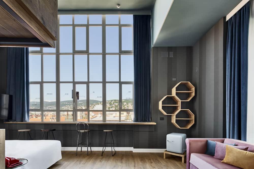 Habitación cuádruple (Modernist King Panoramic) - Vista de la habitación