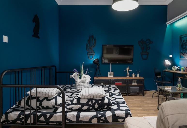 Apartment at the foothills of Acropolis, Ateena, Huoneisto, 2 makuuhuonetta, Oleskelualue