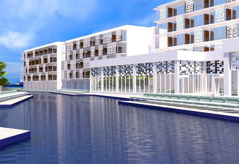 Chrysomare Beach Hotel and Resort, Ayia Napa, Välibassein