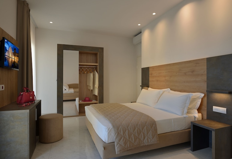 أوتل دوكالي, ريميني, غرفة مزدوجة أو بسريرين منفصلين, غرفة نزلاء