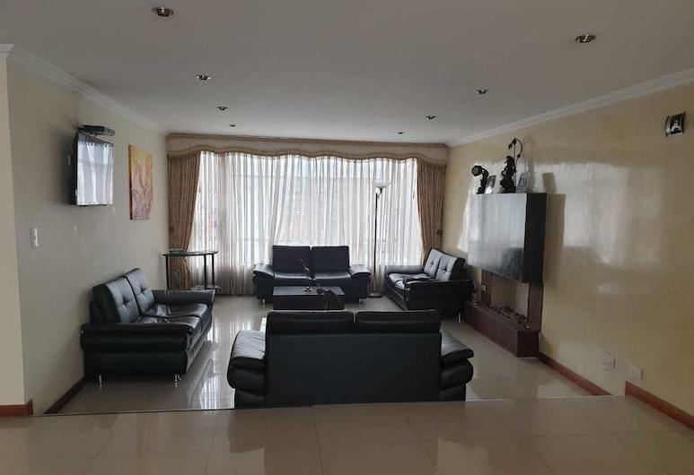 Hotel Boutique Aeropuerto, Bogotá, Twin Room, Living Room