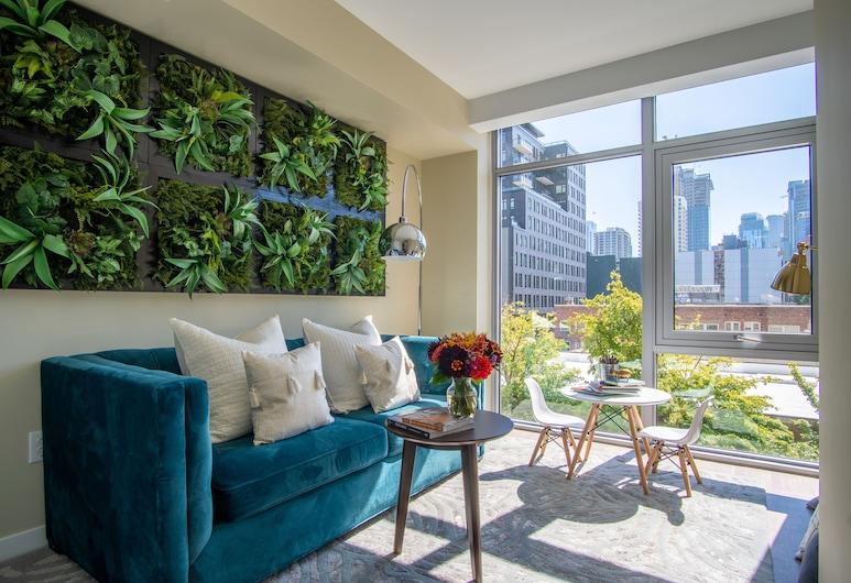 WhyHotel Seattle-Belltown Luxe Suites Wall Street, Seattle, Lobby Sitting Area