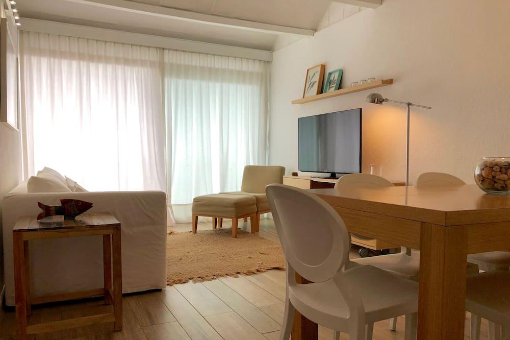 Дизайнерські апартаменти, 2 спальні, з видом на пляж - Житлова площа