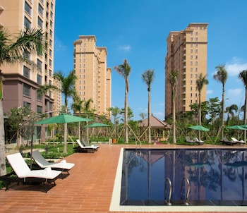 A(z) The QUBE Hotel & Suite Vientiane hotel fényképe itt: Vientiane