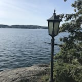 Vista al agua