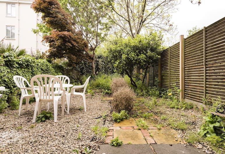 London New Apartment With Private Garden, Londýn, Zahrada