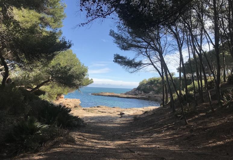 Villa Cala Blanca, L'Ametlla de Mar, Pludmale