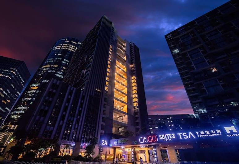 Shenzhen T Hotel Apartment, Shenzhen, Вид снаружи / фасад