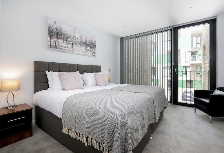 LT Greenwich 3 Bed Townhouse, London, House, Ensuite (LT Greenwich 3 Bed), Guest Room