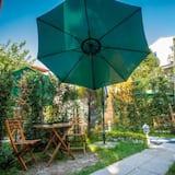 Bungalow Deluxe - Utsikt mot innergården
