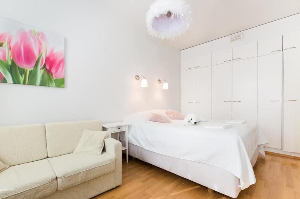 公寓, 1 間臥室, 三溫暖, 城市景觀 - 客廳
