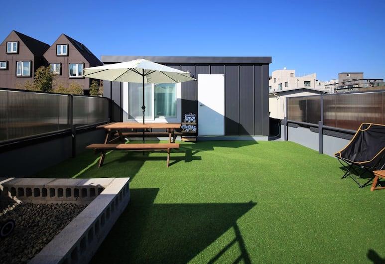 ZIBRO H Guesthouse - Hostel, Seoul, Suite, privat bad (Pet-friendly), Terrasse/veranda