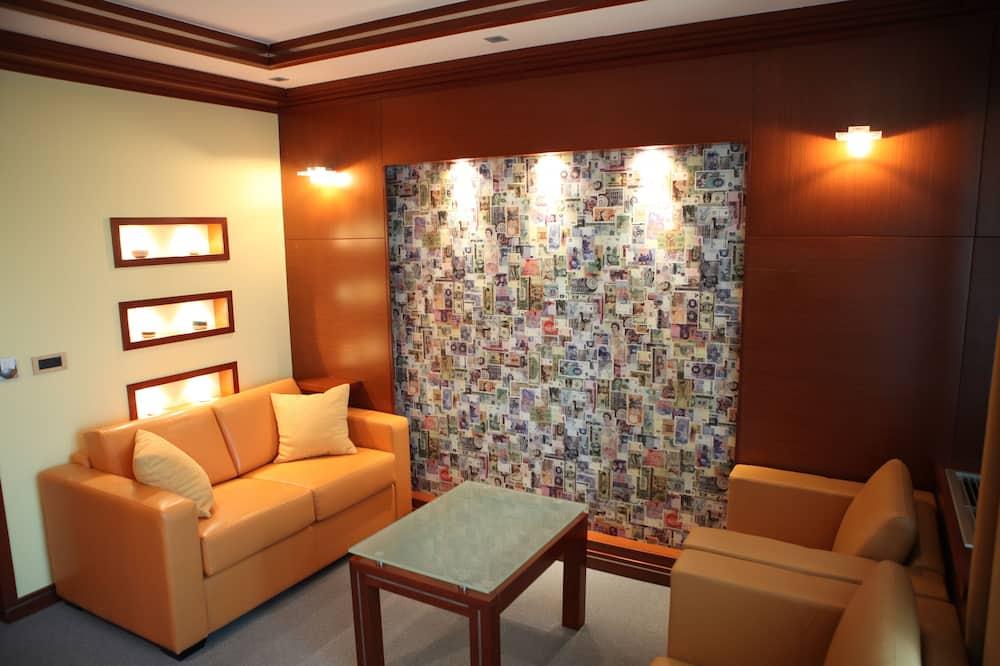 Apartament typu Executive Suite, balkon - Powierzchnia mieszkalna
