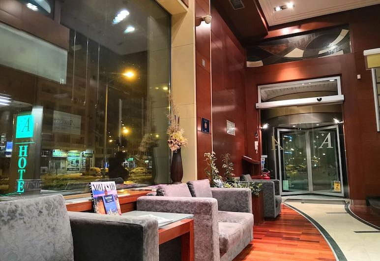 Garni Hotel Aleksandar, נובי סאד, אזור ישיבה בלובי