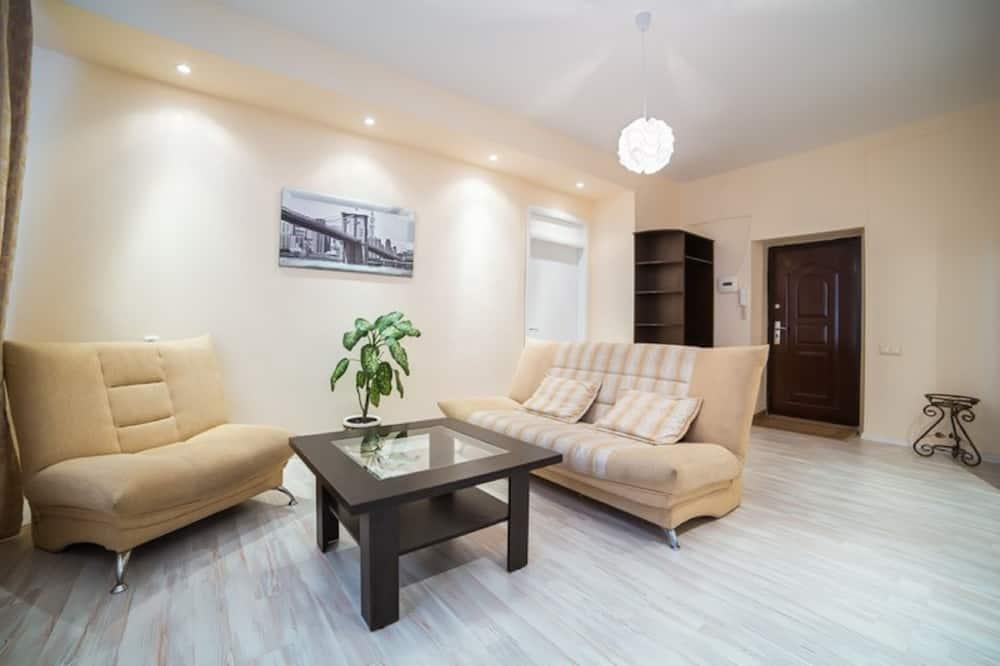 Апартаменти категорії «Комфорт» (Leningradskaya 1) - Вітальня
