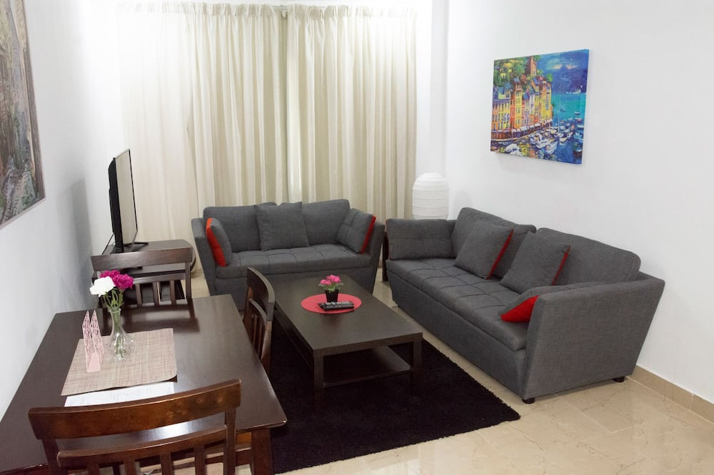 Családi szoba, 1 hálószobával - Nappali rész