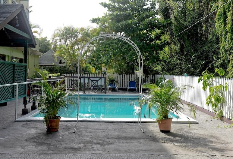 鳳梨套房旅館, 奥求里歐斯, 室外游泳池