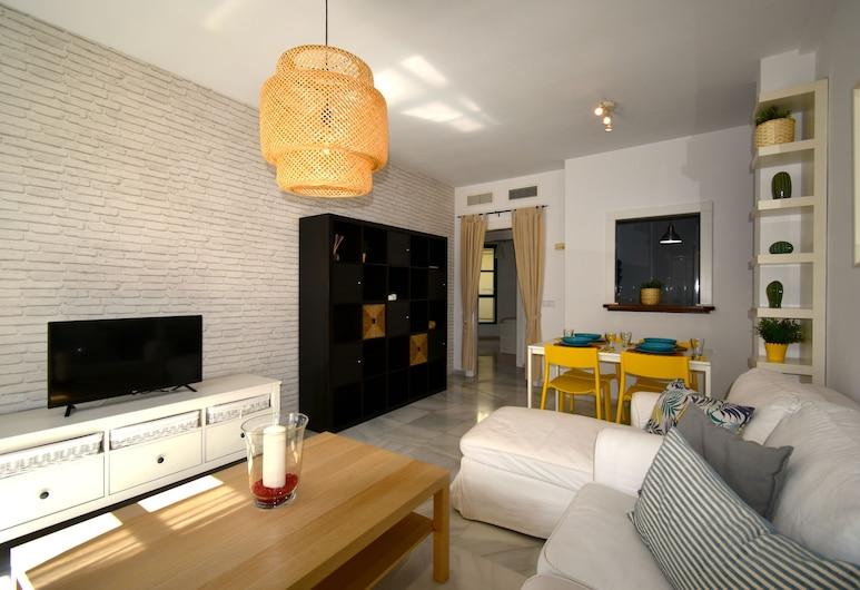 RENTHAS Atarazanas, Málaga, Apartamentai, 2 miegamieji, Svetainė