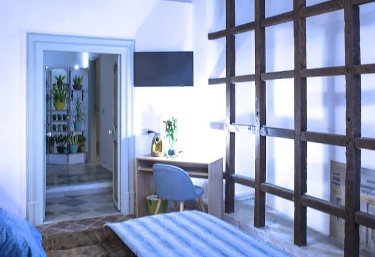 PalArt Rooms & Suite, Palermo, Deluxe Tek Büyük Yataklı Oda, 1 Büyük (Queen) Boy Yatak, Şehir Manzaralı (Sakura), Oda