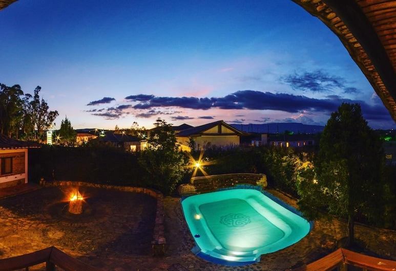 Hotel Holistico Aluna, Villa de Leyva, Pool