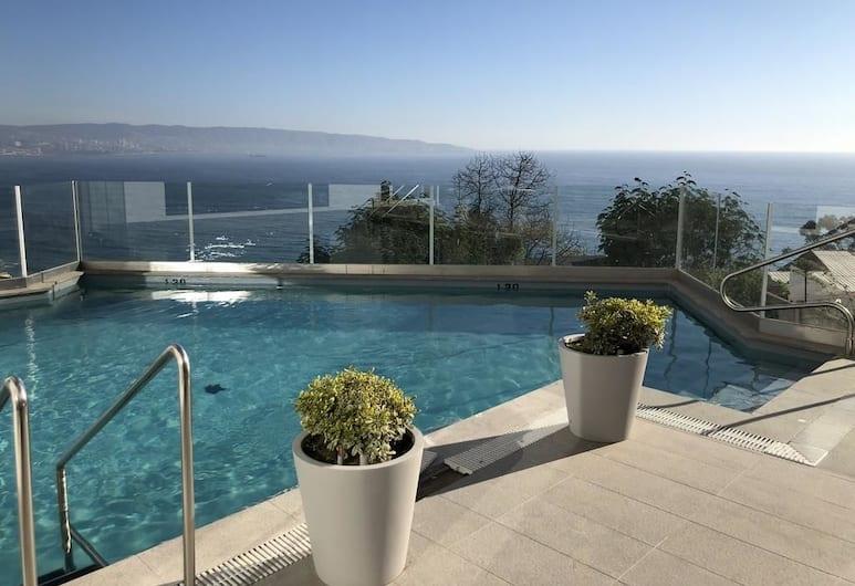 雷納卡海景 192 號公寓酒店, 維納德爾瑪, 室外泳池