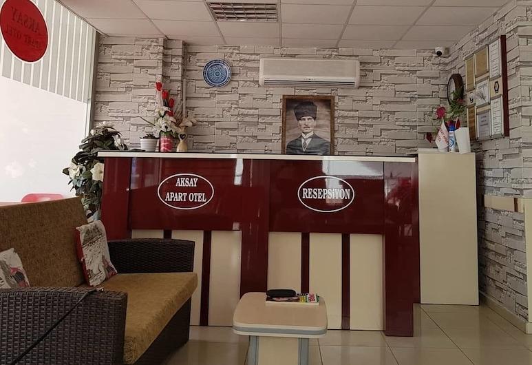 Aksay Apart Hotel, Silifke, Recepcja
