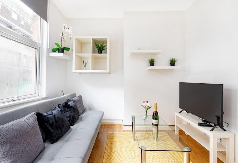 Liverpool Street City Apartment , Londýn, Apartmán, 1 spálňa, Izba