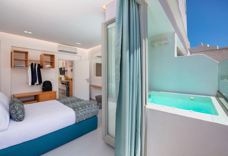 Harmony Suites, Santorini, Superior Apartment, Guest Room