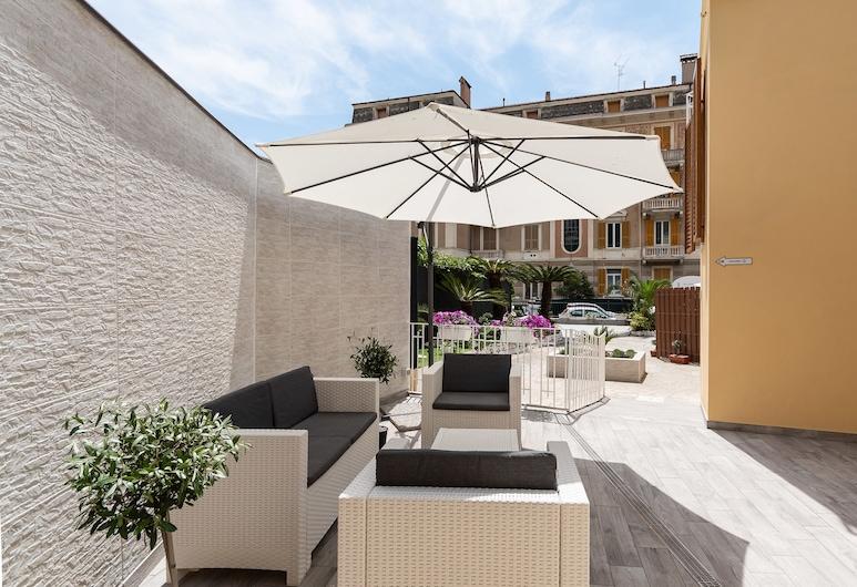 Residence Bike and Beach, Finale Ligure, Terraza o patio