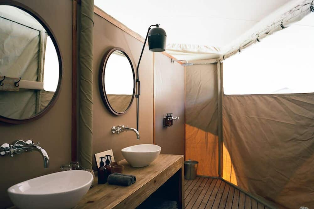 Standard-Zelt - Badezimmer