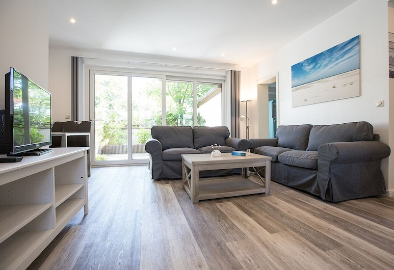 Hafen 31, Wittduen, Apartment (Ebbe), Living Room