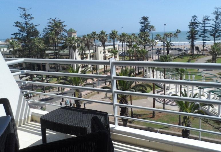 Appartement centre ville Vue sur Mer A8, Эль-Джадида, Апартаменты, Балкон