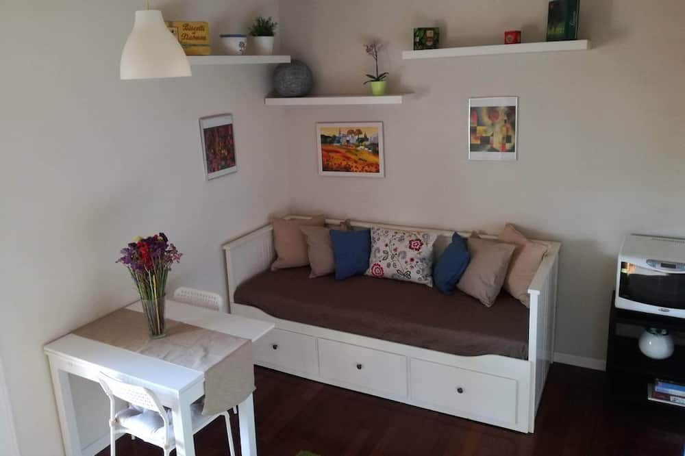 Апартаменты «Делюкс», 1 спальня, вид на внутренний двор - Зона гостиной