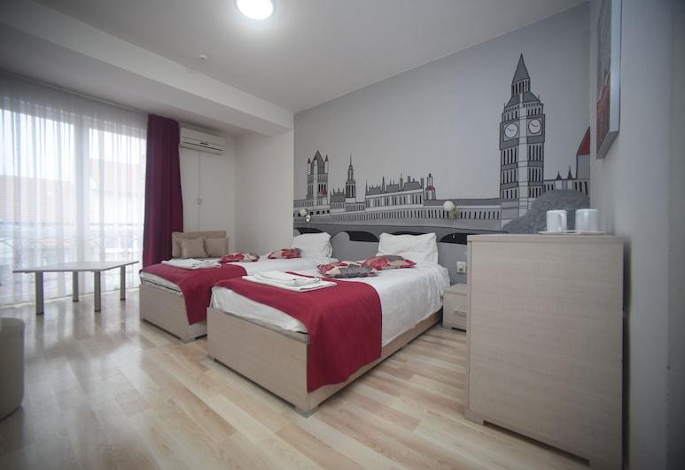 MM Rooms, Skopje, Quadrupla Deluxe, Camera