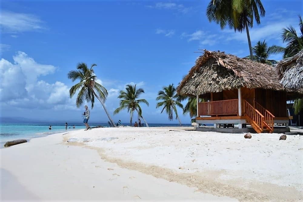 Basic Kulübe, Plaj Manzaralı - Oturma Alanı