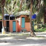 Basic Kulübe, Plaj Manzaralı - Banyo