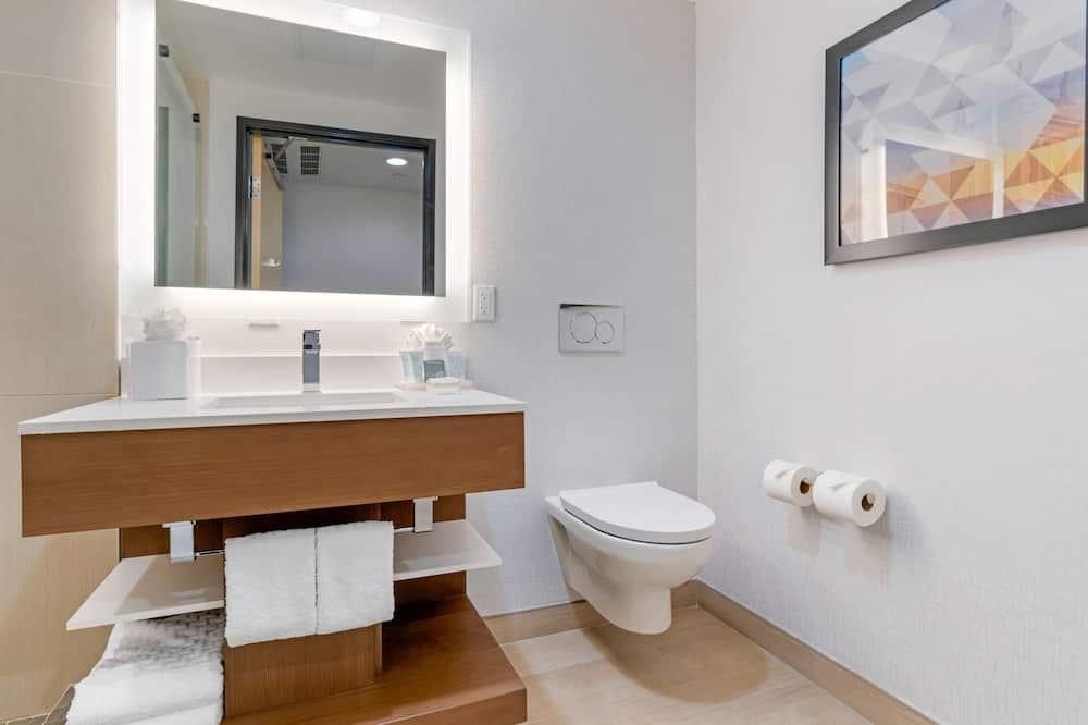 Quarto Standard, 2 camas queen-size, Acessível, Frigorífico - Casa de banho