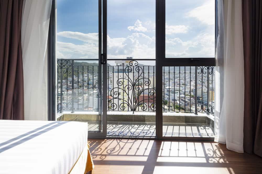 Deluxe-Zweibettzimmer - Blick vom Balkon