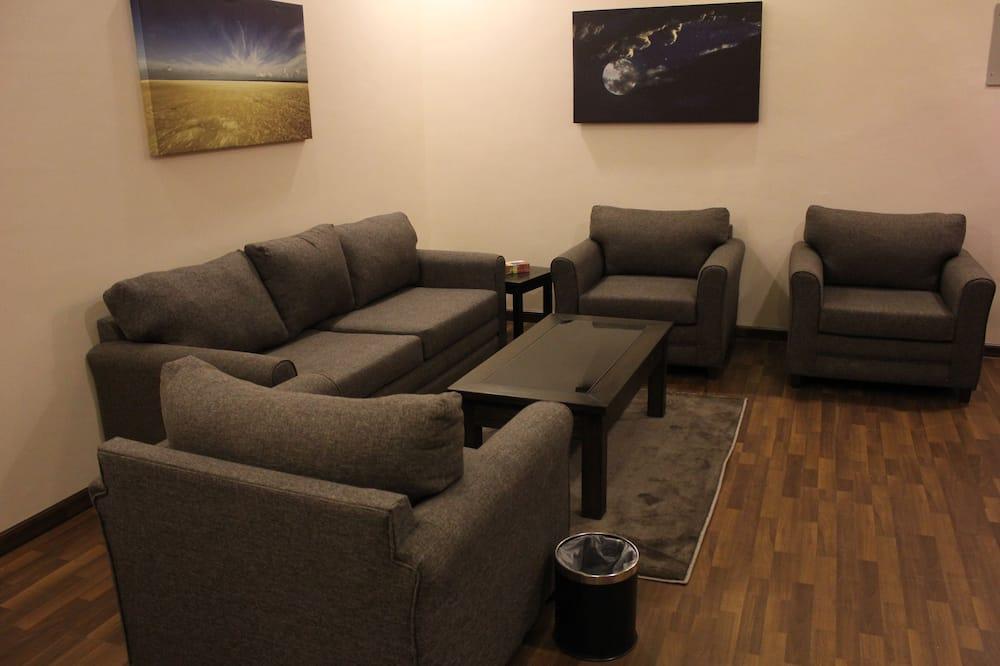 Huoneisto, 1 makuuhuone - Olohuone
