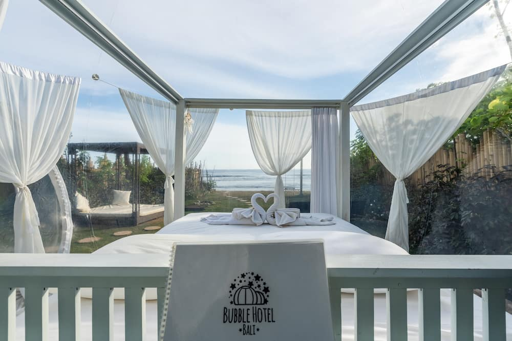 Basic Double Room, Beach View - Room