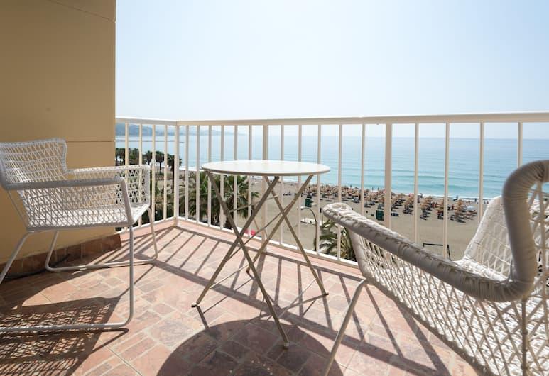 Caleta Homes - Malagueta Beach I, Málaga, Apartamentai, 1 miegamasis, vaizdas į jūrą (Miradore - Pintor Martinez Virel, 4A), Terasa / vidinis kiemas