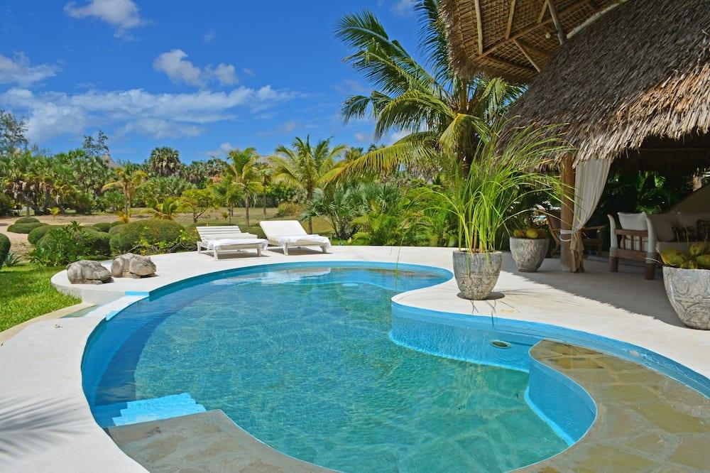 Willa luksusowa, 4 sypialnie, prywatny basen, widok na ocean (TEMBO) - Prywatny basen