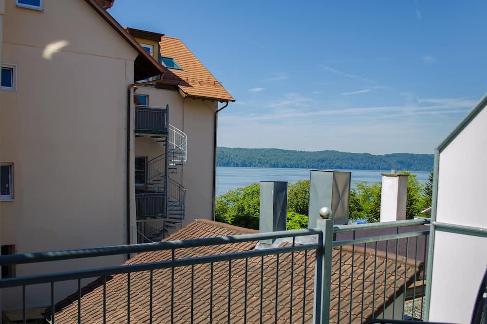 Dubbelrum - balkong - viss sjöutsikt - Balkong