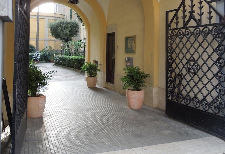 A casa di Lucia, Rom, Overnatningsstedets facade