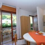 Dviejų aukštų numeris, 1 miegamasis (B-5) - Vakarienės kambaryje