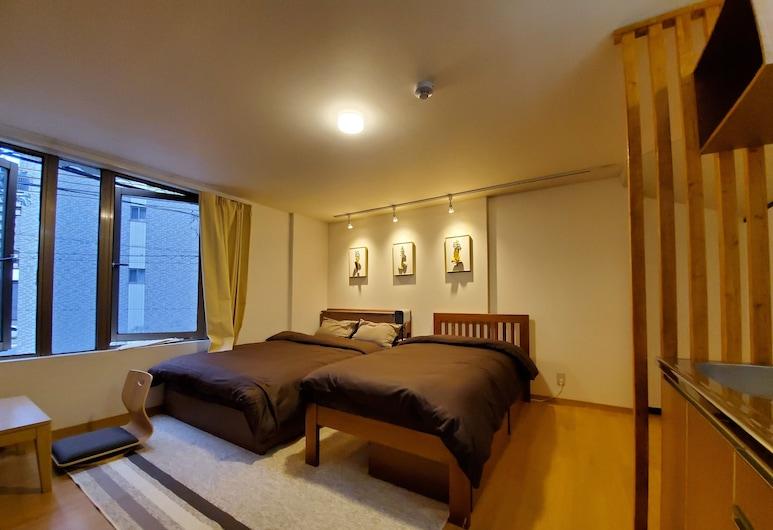 Sakuranomiya Hotel, Osaka, Deluxe Quadruple Room, Room